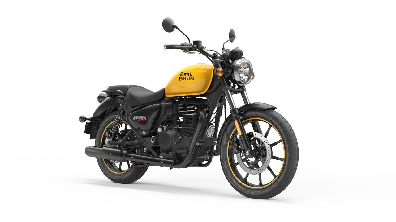 画像2: ロイヤルエンフィールド「メテオ350」日本での販売価格が決定! バイク専用ナビシステムを搭載した349cc単気筒クルーザー