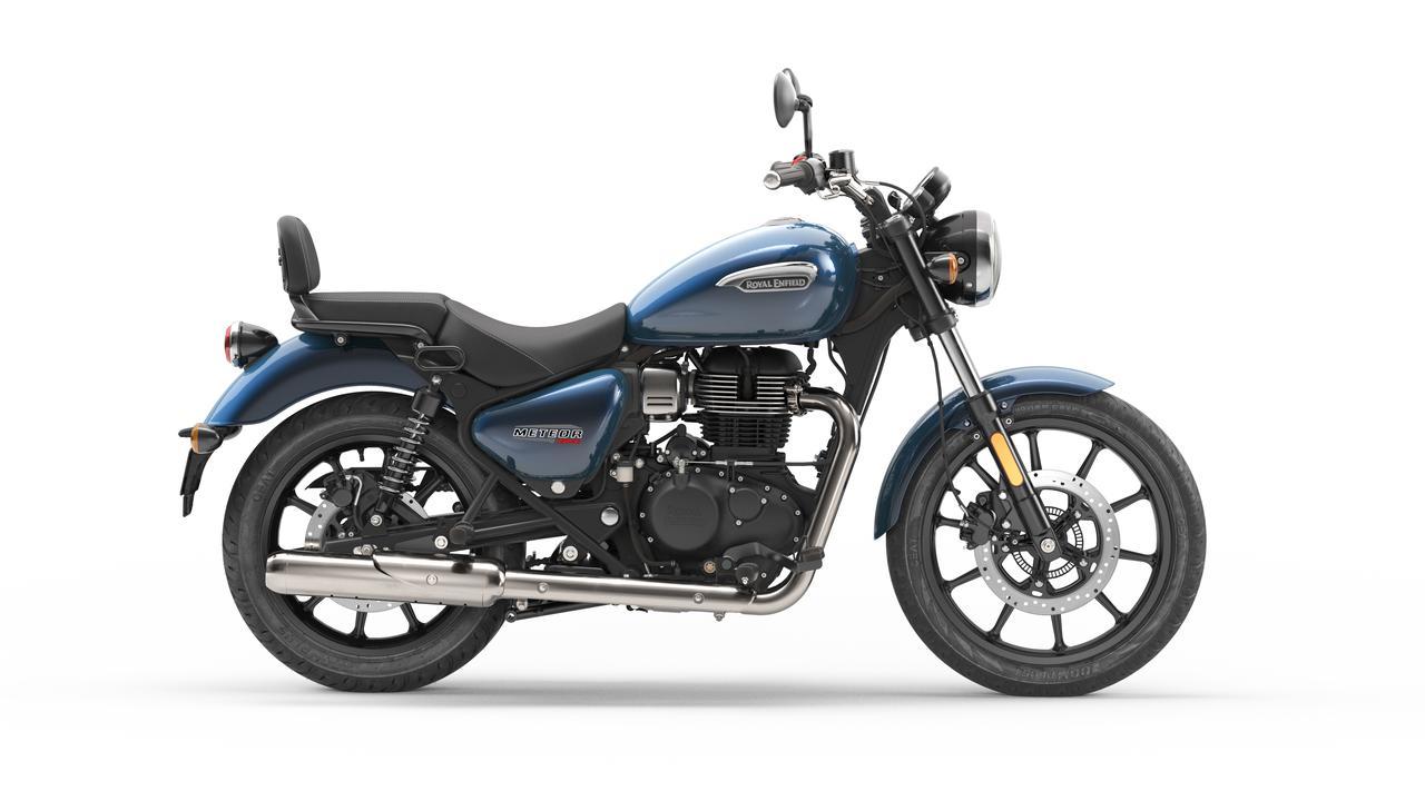 画像4: ロイヤルエンフィールド「メテオ350」日本での販売価格が決定! バイク専用ナビシステムを搭載した349cc単気筒クルーザー