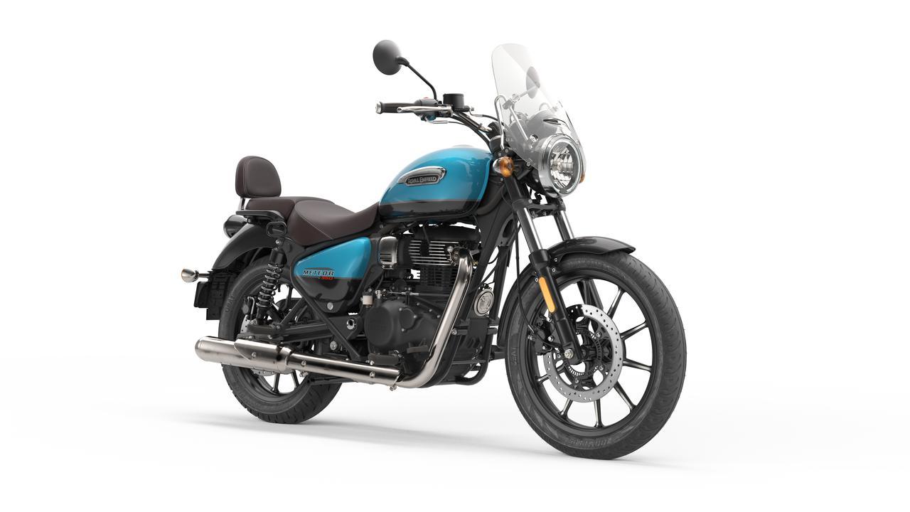 画像6: ロイヤルエンフィールド「メテオ350」日本での販売価格が決定! バイク専用ナビシステムを搭載した349cc単気筒クルーザー