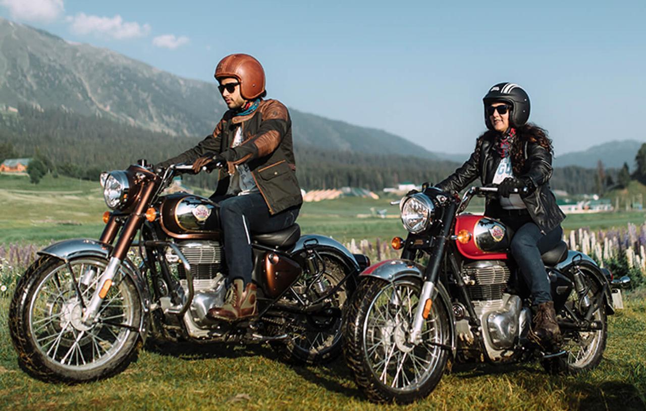 画像: ロイヤルエンフィールドが新型「クラシック350」を発表【2022速報】 - webオートバイ