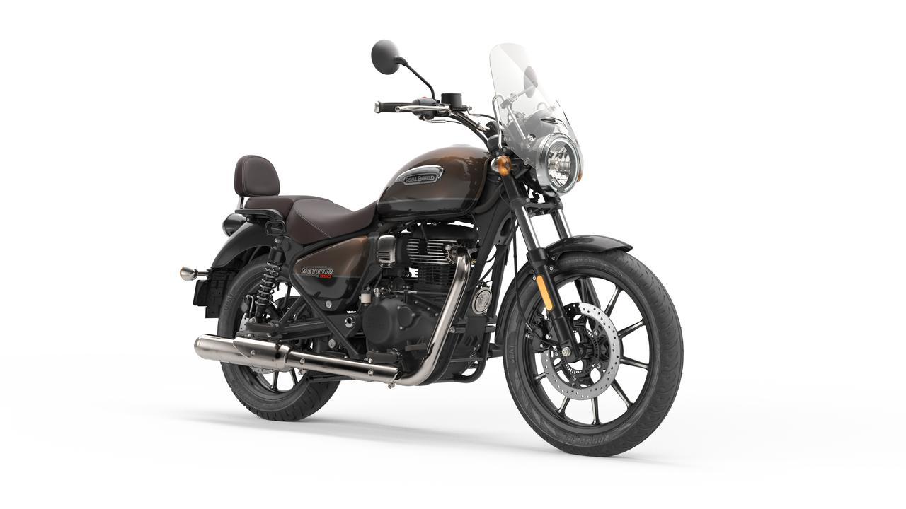画像7: ロイヤルエンフィールド「メテオ350」日本での販売価格が決定! バイク専用ナビシステムを搭載した349cc単気筒クルーザー