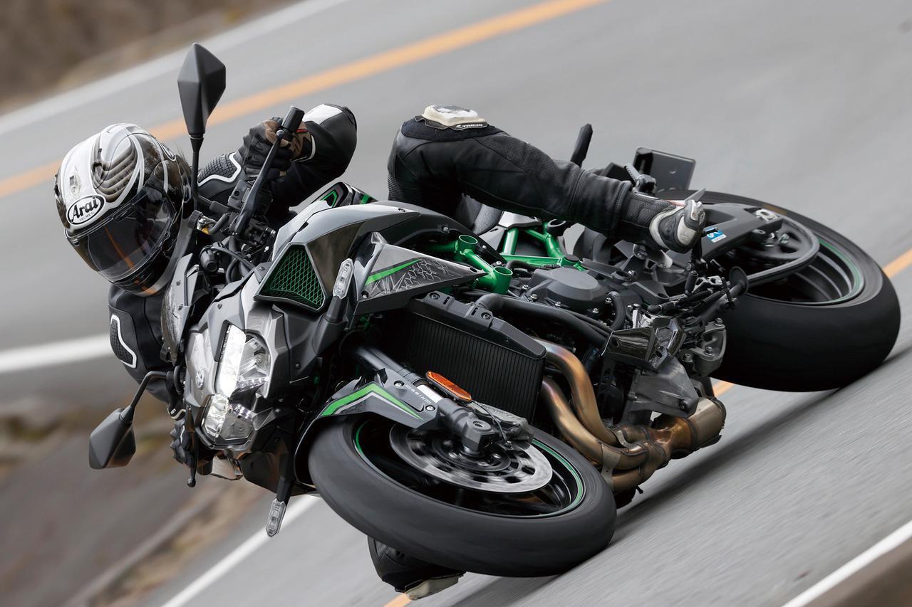 画像: 【インプレ】カワサキ「Z H2」(2020年) - webオートバイ