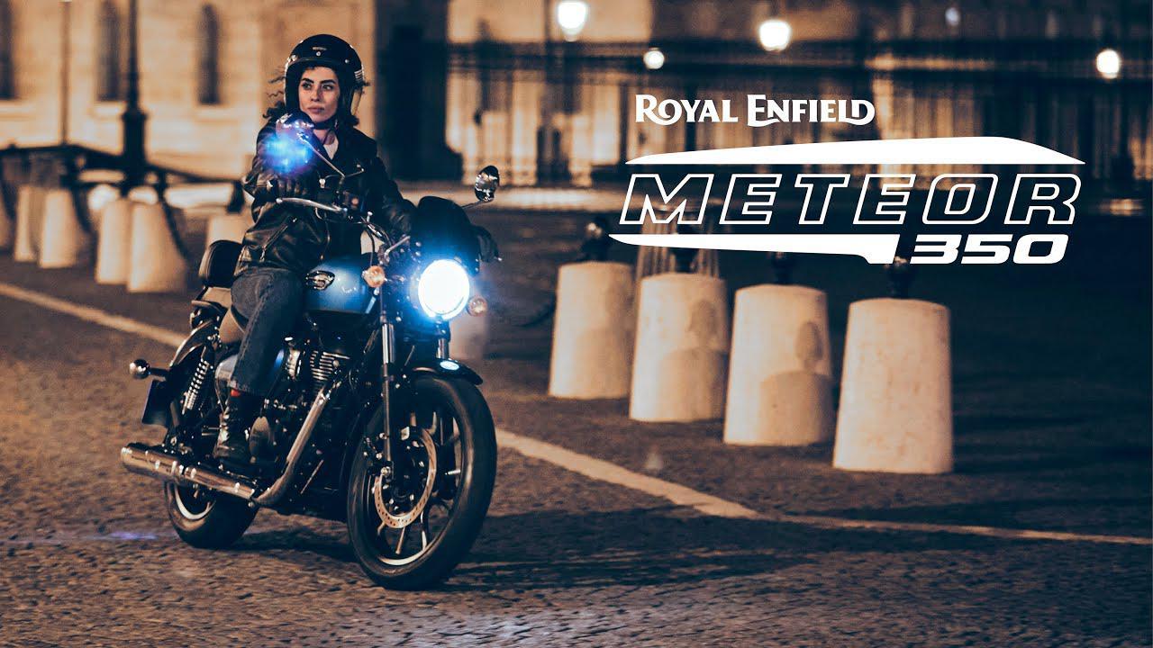 画像: Royal Enfield Meteor | My City, My Paris www.youtube.com