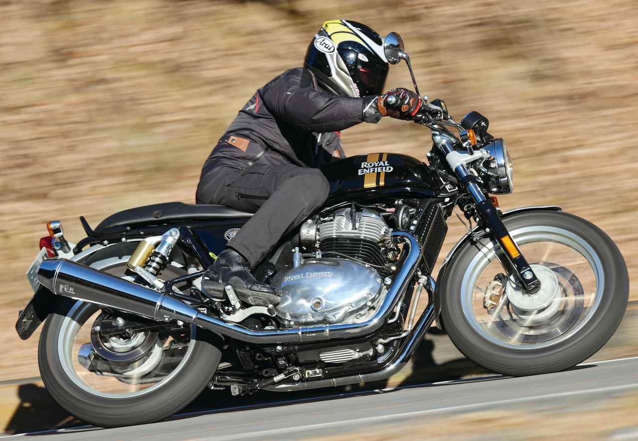 画像: 【インプレ】ロイヤルエンフィールド「コンチネンタルGT650」(2021年) - webオートバイ