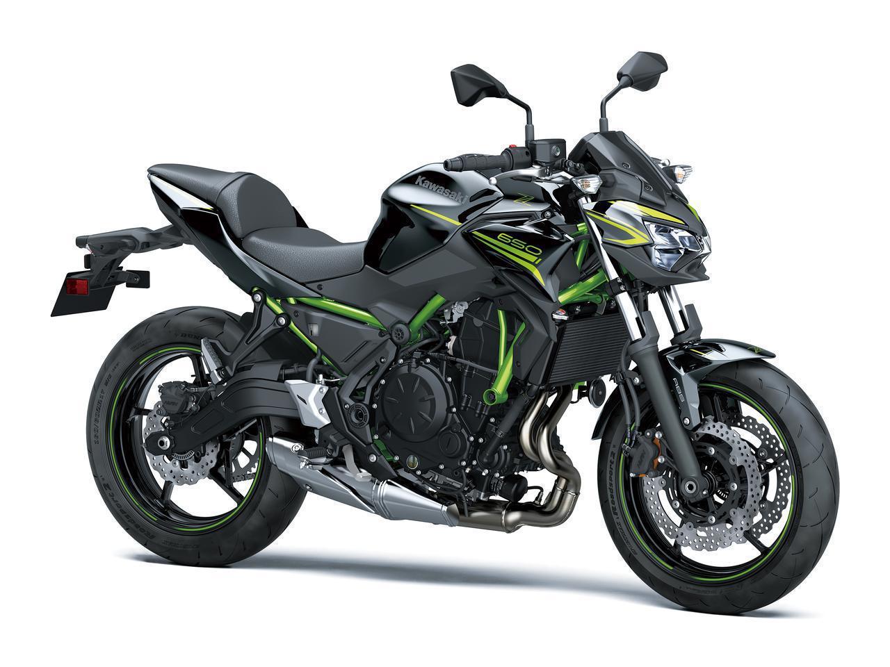 画像: Kawasaki Z650 総排気量:649cc エンジン形式:水冷4ストDOHC4バルブ並列2気筒 シート高:790mm 車両重量:189kg