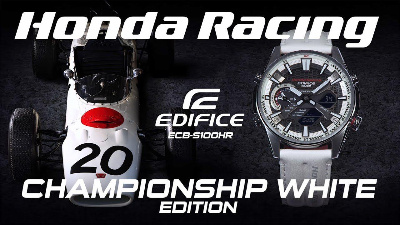 画像: 【公式動画】CASIO EDIFICE Honda Racing Championship White Edition - Championship White version- www.youtube.com