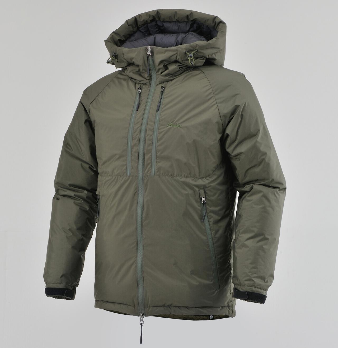 画像: NANGA × DAYTONA オーロラダウンジャケット 特別モデル 税込価格:46,200円 サイズ:S、M、L、XL カラー:ブラック、カーキ