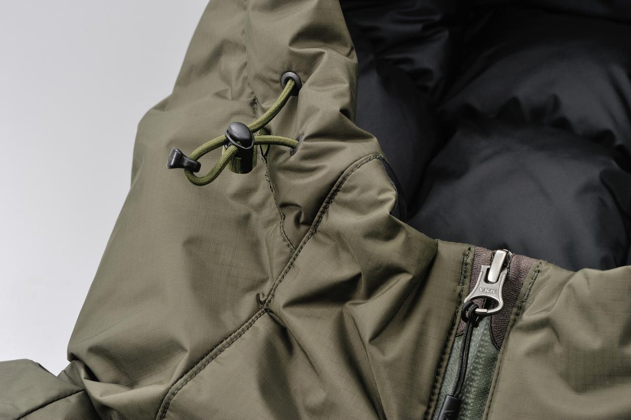 画像6: アウトドア界の銘品・ナンガ「オーロラダウンジャケット」がバイク乗り仕様に! 特別モデルとしてデイトナが新発売