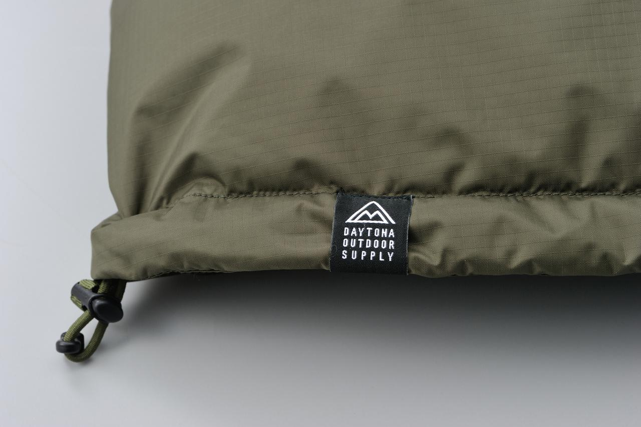 画像7: アウトドア界の銘品・ナンガ「オーロラダウンジャケット」がバイク乗り仕様に! 特別モデルとしてデイトナが新発売