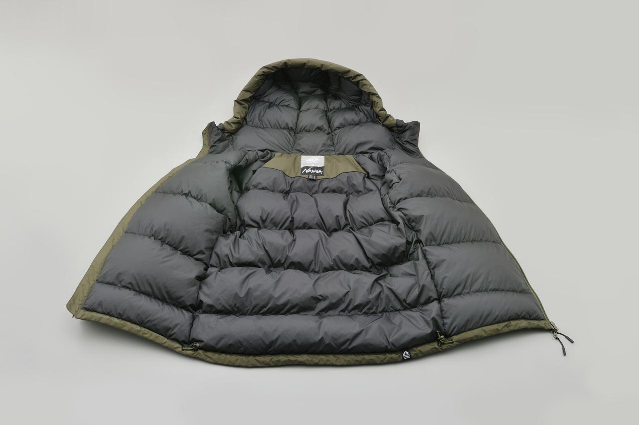 画像5: アウトドア界の銘品・ナンガ「オーロラダウンジャケット」がバイク乗り仕様に! 特別モデルとしてデイトナが新発売