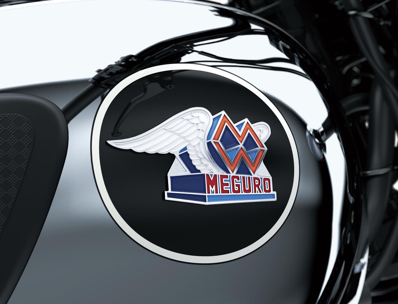 画像1: カワサキが「メグロK3」の2022年モデルを発表|最新の排ガス規制に適合させ現役続行! 令和の時代を走る空冷2気筒大型バイク