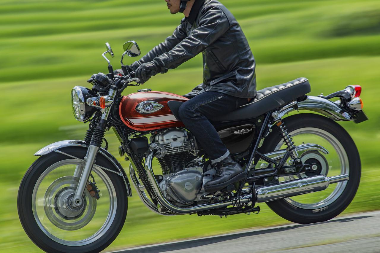 画像: カワサキ「W800」「W800ストリート」「W800カフェ」の2022年モデルが登場 - webオートバイ