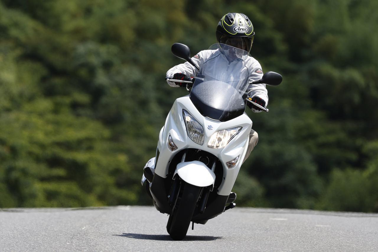 画像1: 【新型情報】スズキ「バーグマン200ABS」インプレ(2021年) - webオートバイ