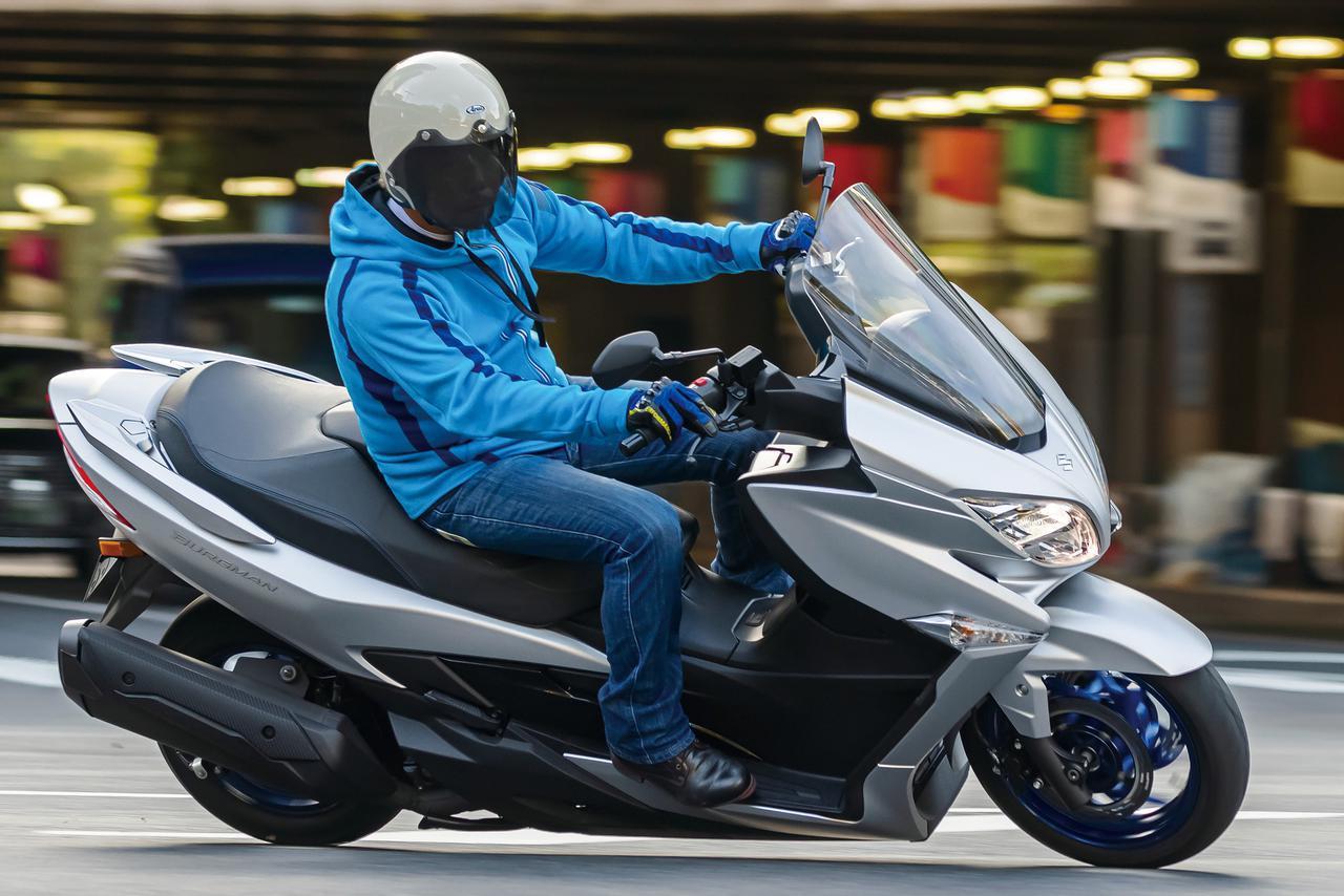 画像: 【インプレ】スズキ新型「バーグマン400 ABS」(2021年) - webオートバイ