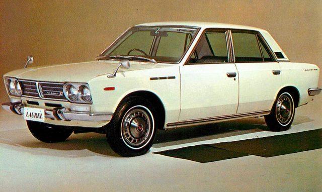 画像: ローレル 1800 デラックスB(1969年)