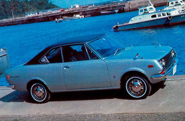 画像: コロナ マークⅡ 1600/1900 ハードトップ(1969)