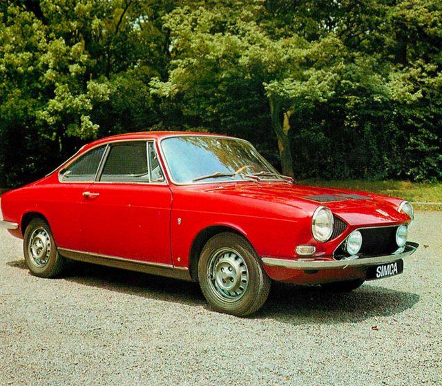 画像: シムカ 1200S クーペ(1969年)