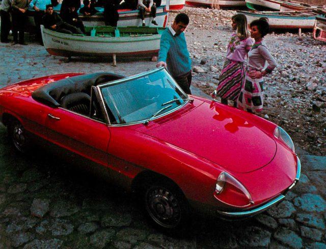 画像: アルファ ロメオ スパイダー 1600(1969年)