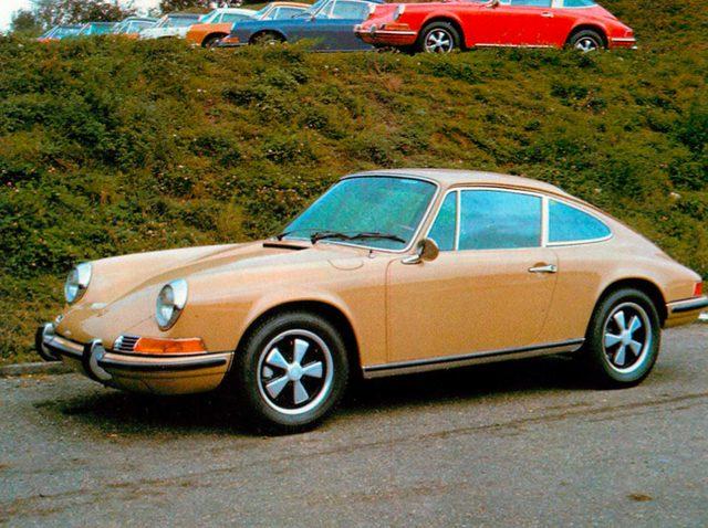画像: ポルシェ 911S/911E(1969年)
