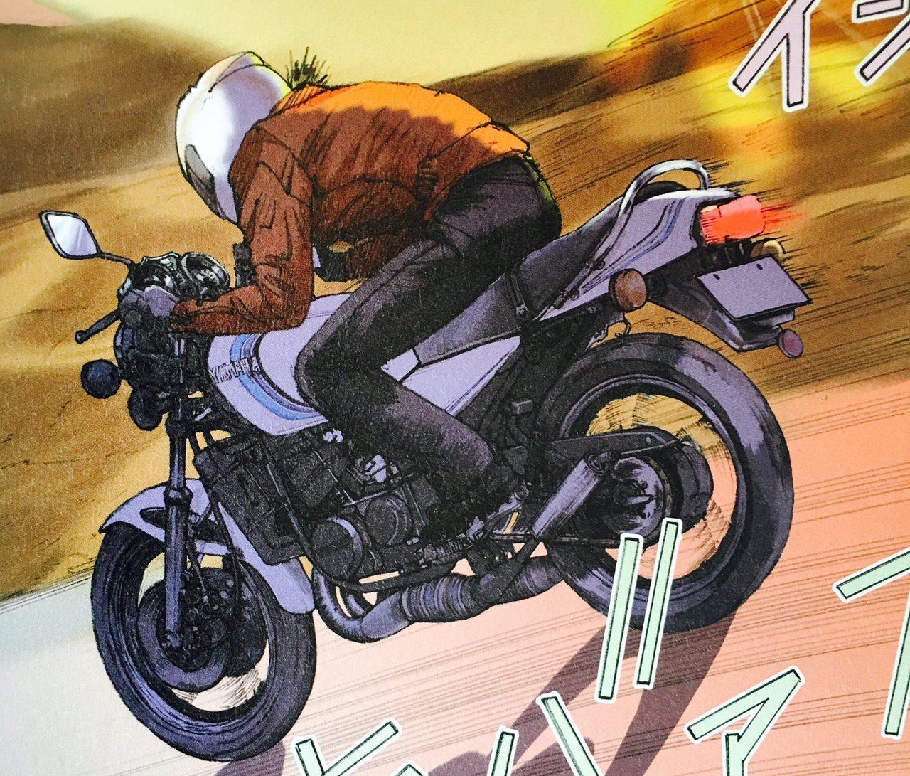 画像: 止まっていた時間。再び動かしたのはRZ350の極上の加速。〜『東本昌平 RIDE 33 Purchase it』より - LAWRENCE(ロレンス) - Motorcycle x Cars + α = Your Life.