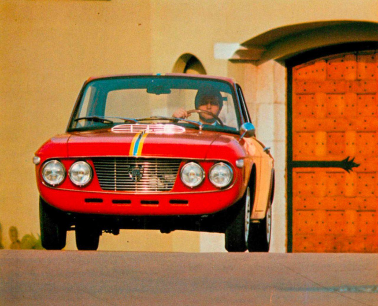 画像: ランチア フルヴィア クーペ ラリー 1.3HF(1969年)
