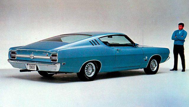 画像: フォード フェアレーン コブラ(1969年)