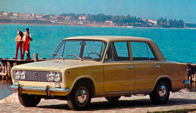 画像: フィアット124 スペチアーレ(1969年)