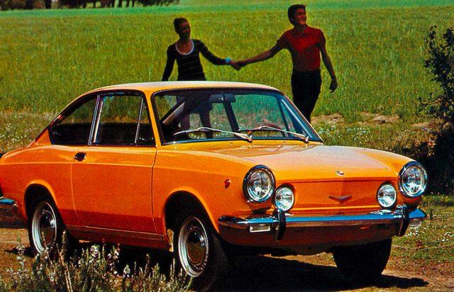 画像: フィアット850 クーペ(1969年)