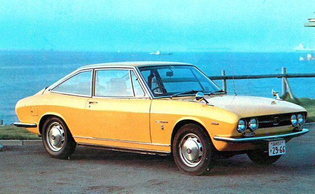 画像: いすゞ117クーペ(1970年)
