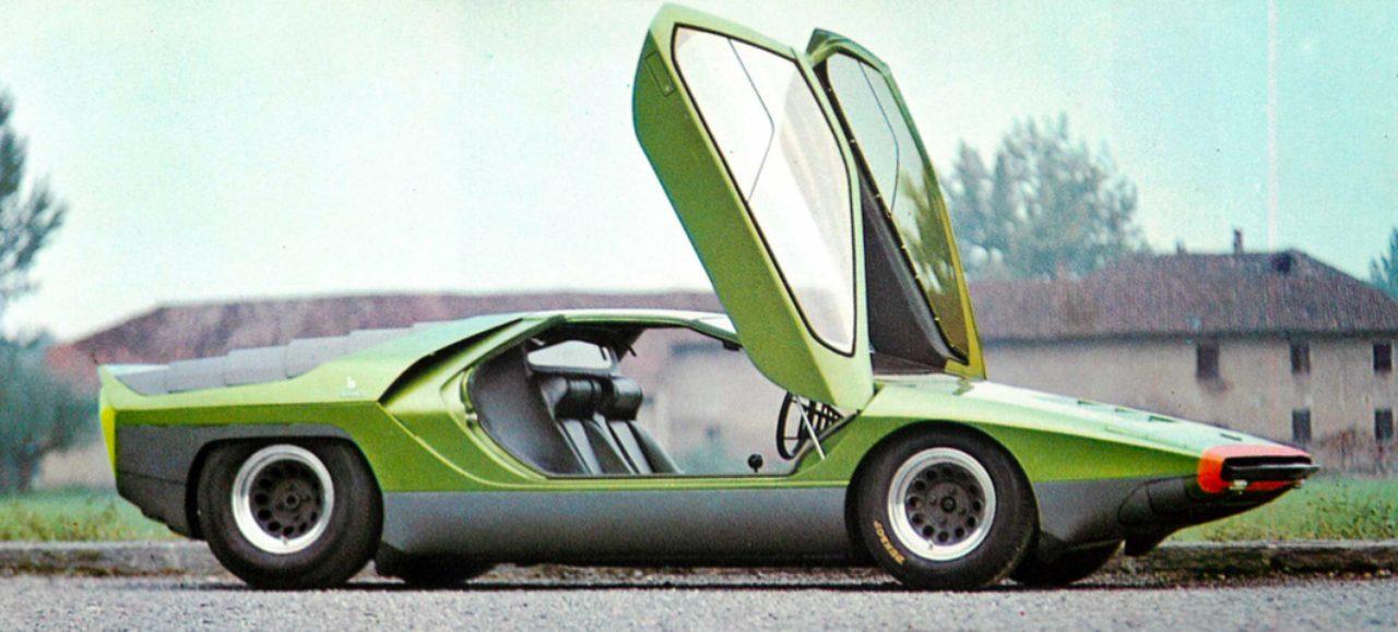 À�世界の自動車年鑑】 Ǭ�59回 À�ベルトーネ Â�ラボ」(1969年モデル) Lawrence
