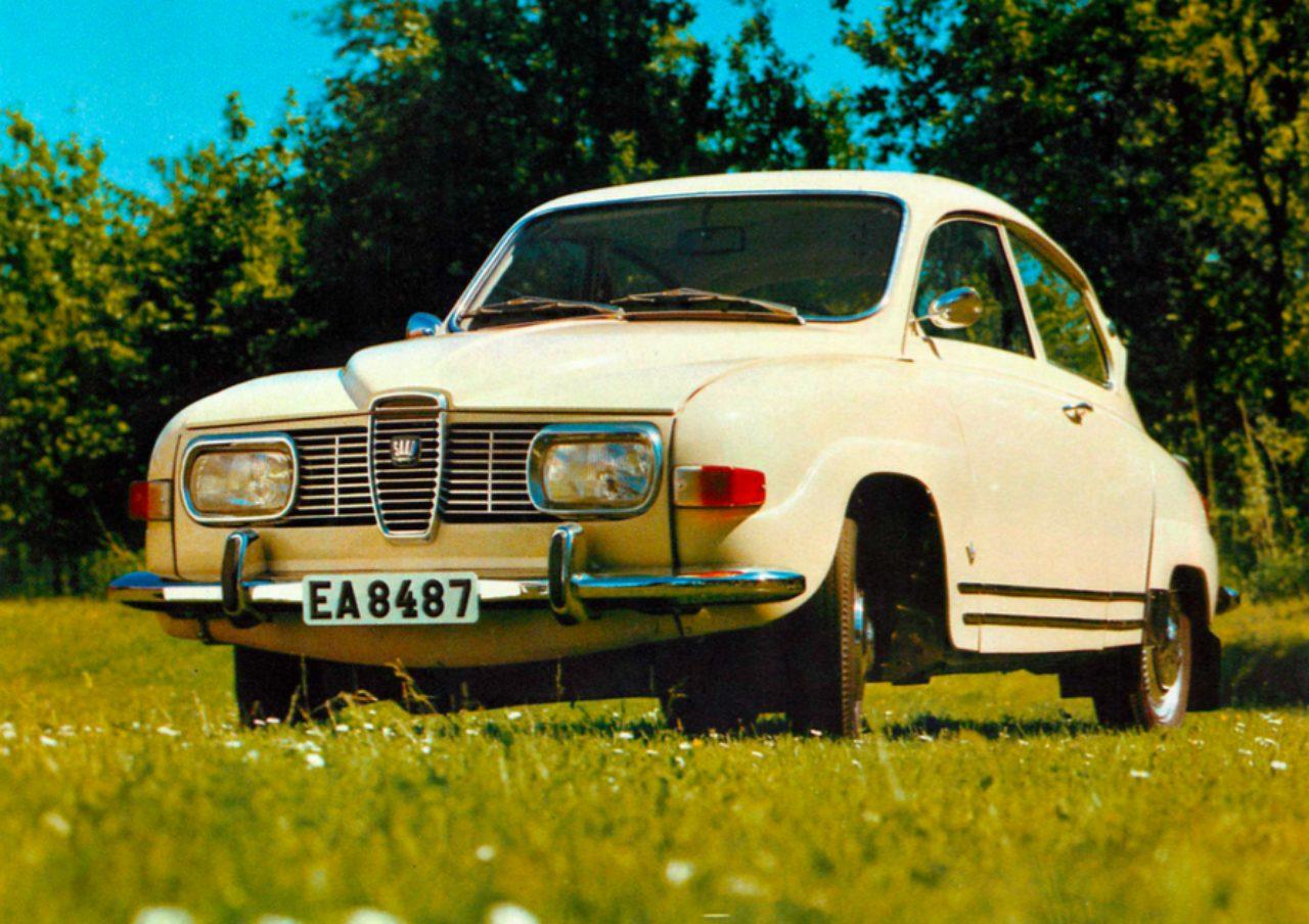 画像: SAAB96 V4 デラックス(1969年)