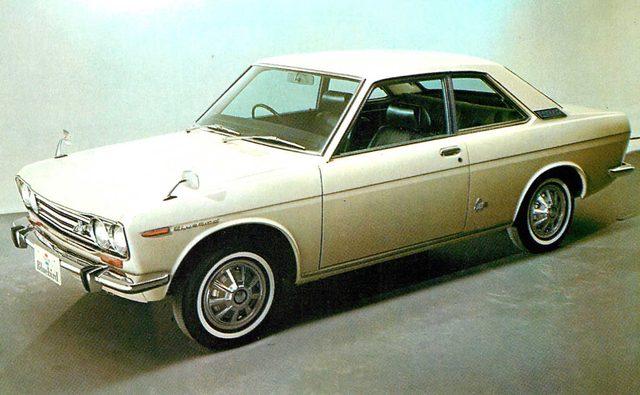 画像: ダットサンブルーバード1600クーペ(1970年)