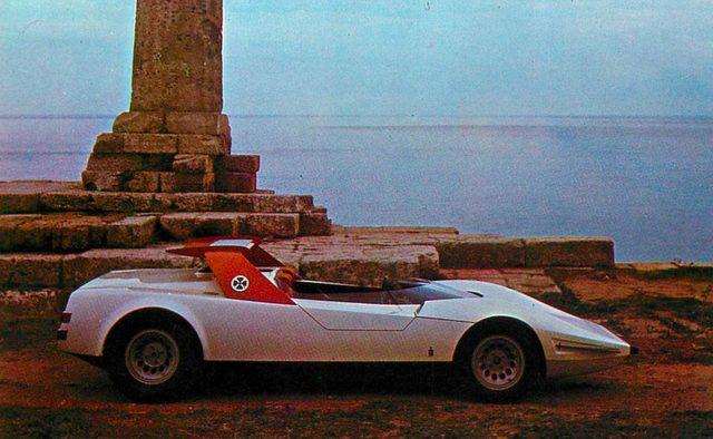 画像: アルファ・ロメオ P33 ロードスターGS ピニンファリーナ(1969年)