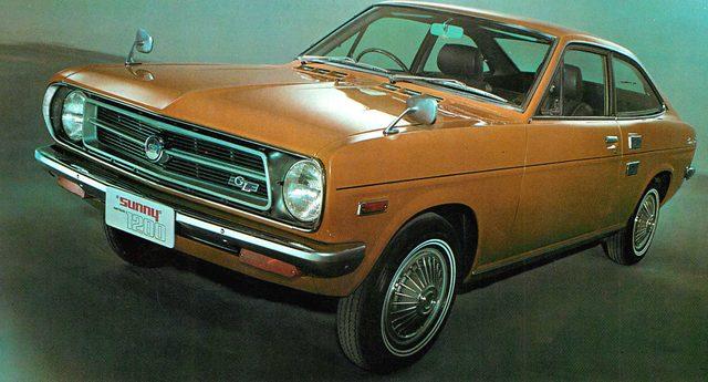 画像: ダットサンサニークーペ1200GL(1970年)