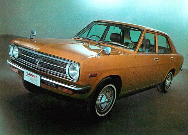 画像: ダットサンサニー1200デラックス(1970年)