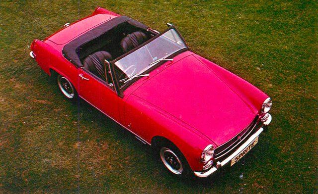 画像: オースチン ヒーレー スプライト MK IV(1970年)