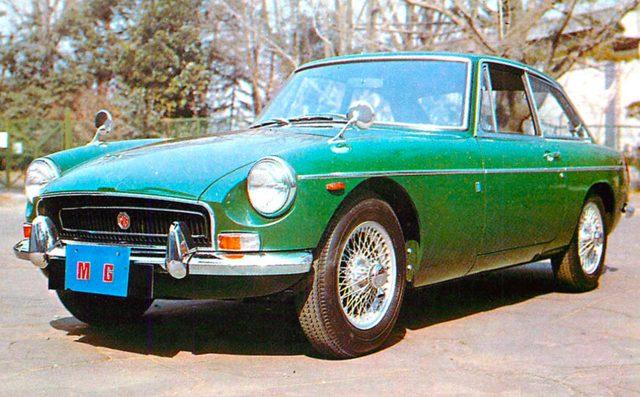 画像: MG MGB GT(1970年)