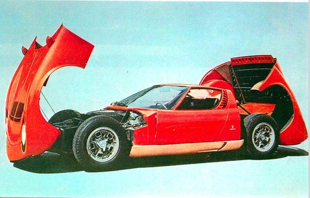 画像: 【世界の自動車年鑑】 第86回 「ランボルギーニ ミウラ P400S」(1970年モデル) - LAWRENCE(ロレンス) - Motorcycle x Cars + α = Your Life.