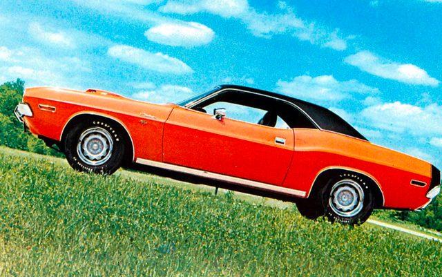 画像: ダッジ チャレンジャーR/T(1970年)