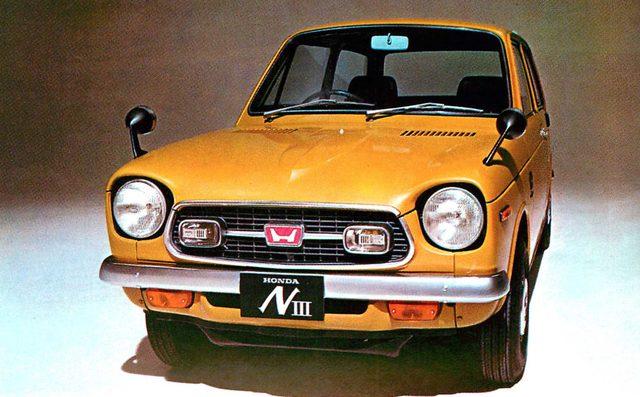 画像: ホンダNⅢ360ツーリングS(1970年)