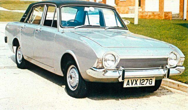 画像: フォード コルチナ 1600E(1970年)