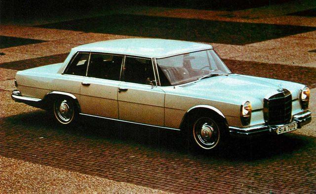 画像: メルセデス・ベンツ 600(1970年)
