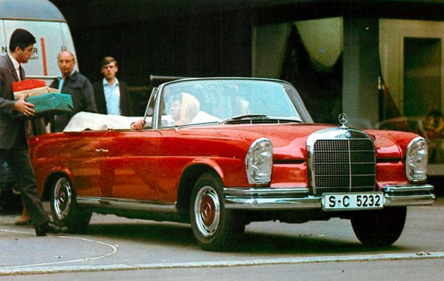 画像: メルセデス・ベンツ 280SE 3.5 ガブリオレ(1970年)