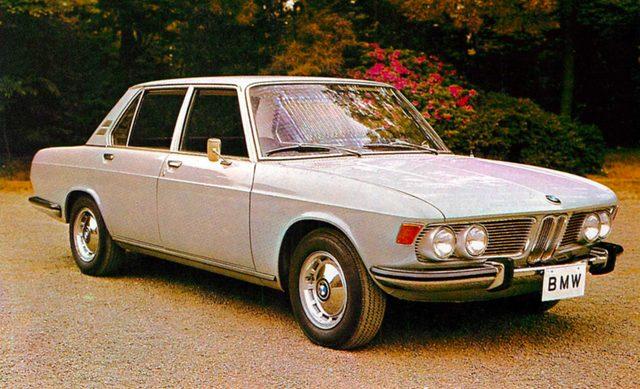画像: BMW 2500(1970年)