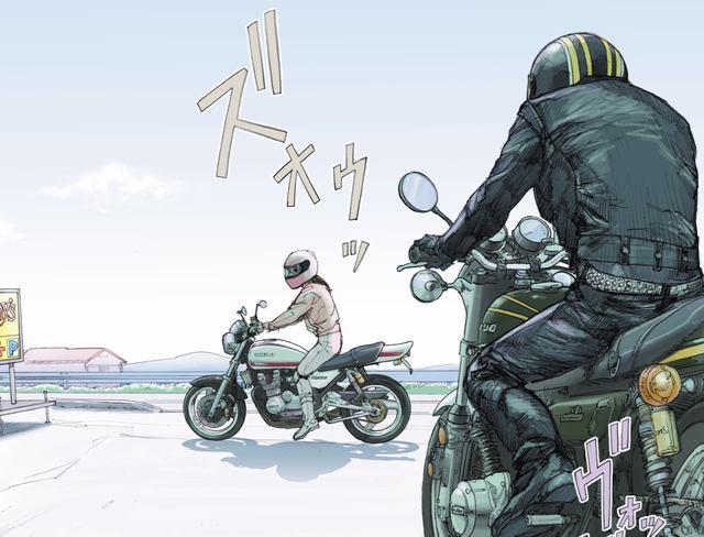 画像: ああ、やっぱりきやがったか。 ©東本昌平先生/モーターマガジン社