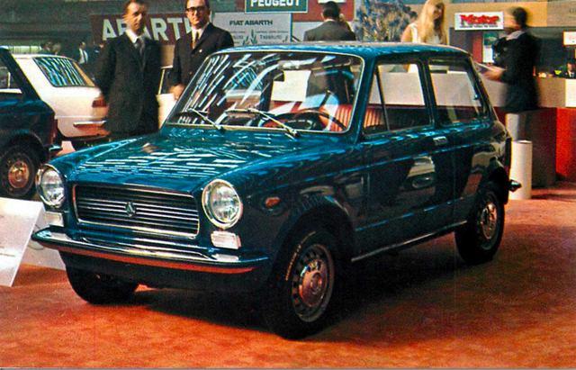 画像: アウトビアンキ A112(1970年)