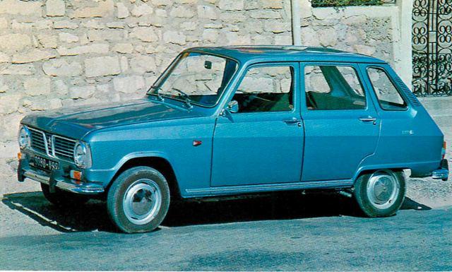 画像: ルノー6(1970年)