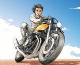 画像4: ファルコンを探せ:バイクが禁じられた近未来に駆ける地上の鳥。〜「CB感 REBORN」@『RIDE 20』