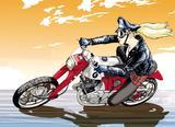 画像1: ファルコンを探せ:バイクが禁じられた近未来に駆ける地上の鳥。〜「CB感 REBORN」@『RIDE 20』