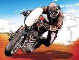 画像3: ファルコンを探せ:バイクが禁じられた近未来に駆ける地上の鳥。〜「CB感 REBORN」@『RIDE 20』